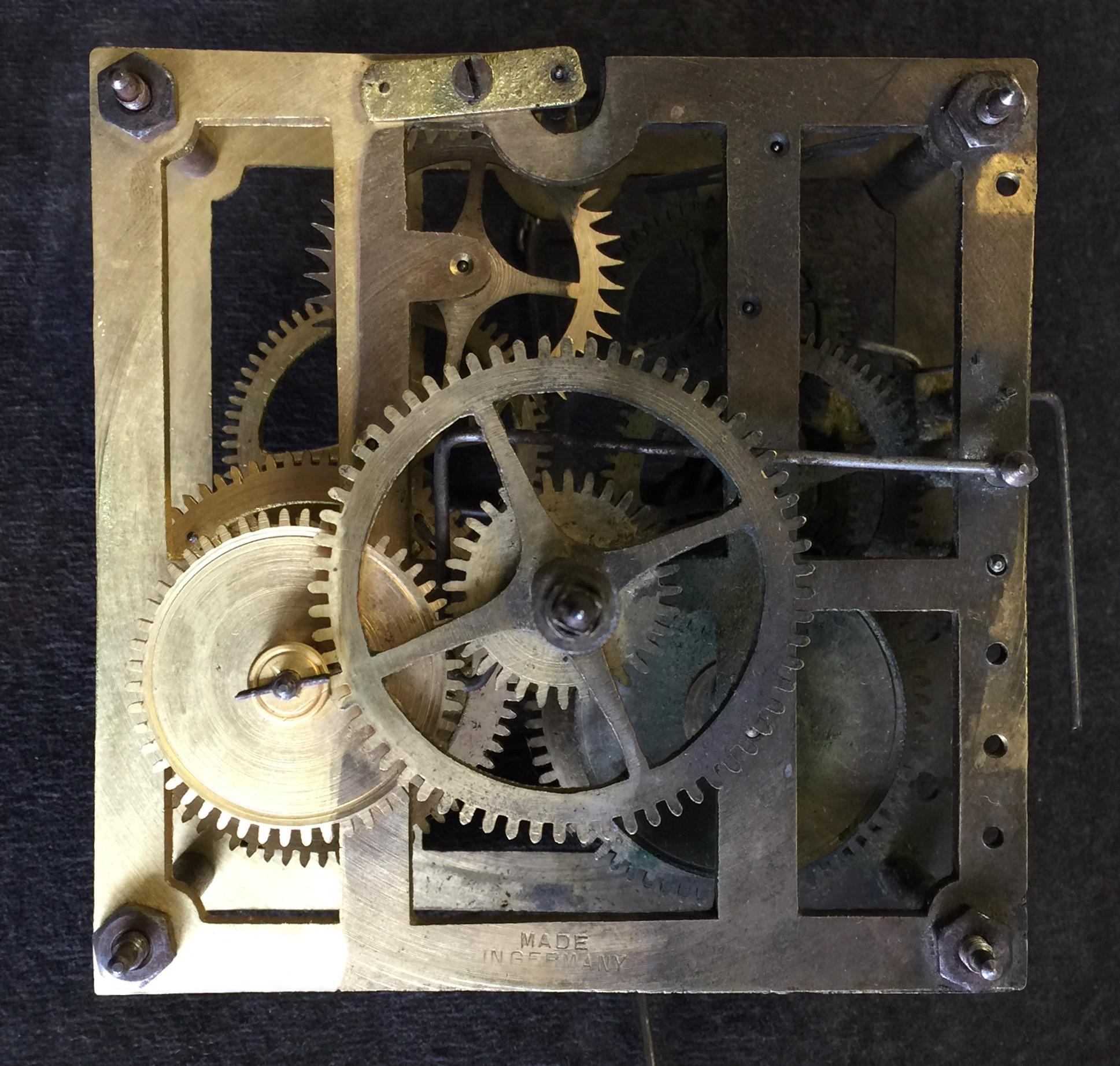 Worn Clock Parts
